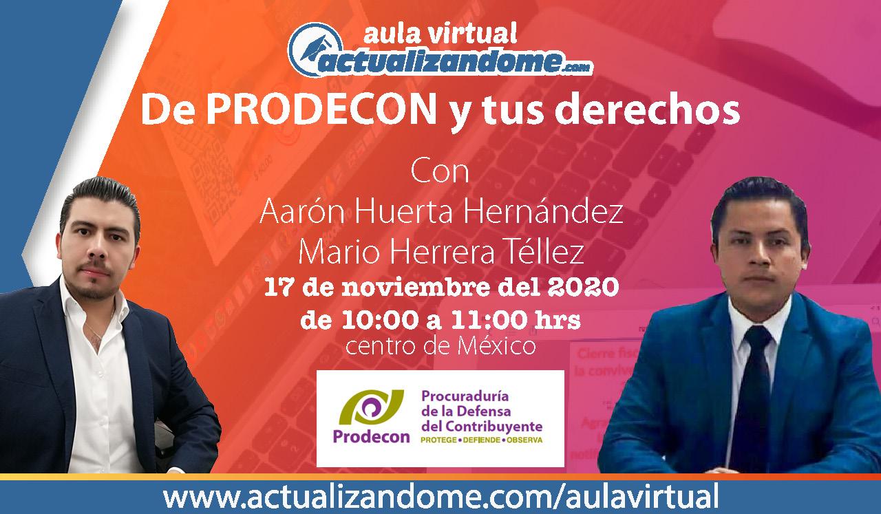 17 Nov PRODECON Mario Aaron