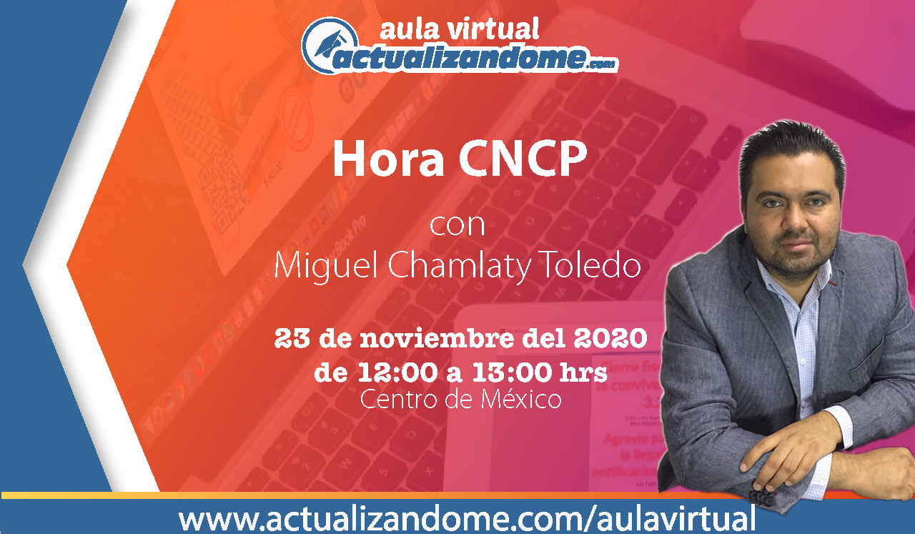 23 Nov Hora CNCP11